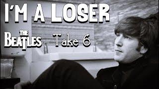 The Beatles - I'm a Loser (Lyrics)