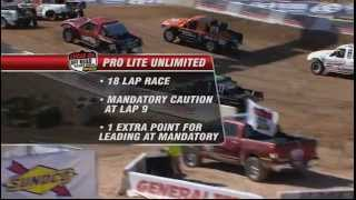 Lucas Oil Off Road Racing  2012  Round 1  Pro Lite Unlimited