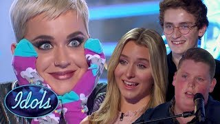 MIND BLOWN! AMAZING 18 And UNDER Auditions On American Idol 2018! Harper Grace, Noah Davis & More