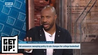 Jay Williams, Ryen Russillo debate NCAA basketball policy and rules changes | Get Up! | ESPN
