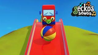Boo Boo Baby Truck Song   Nursery Rhymes & Kids Songs   Geckos Garage   Trucks For Toddlers