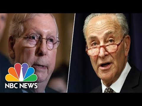 Watch live: McConnell, Schumer speak after weekly Senate policy meetings