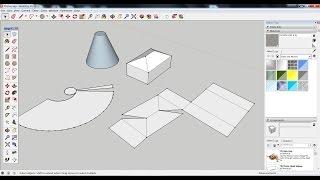 Como Planificar Um Modelo 3D No SketchUp Para Fazer Uma Maqueta Em Cartão