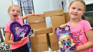 Trinity and Madison Send Toys To Fans and Open Fan Mail!!