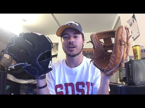 44 Pro Glove review! Dual review with 2 infield gloves pt. 2