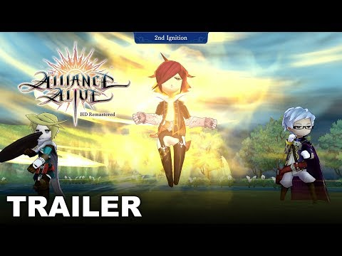 The Alliance Alive HD Remastered - Ignite, Unite, & Fight! - Combat & System Trailer thumbnail