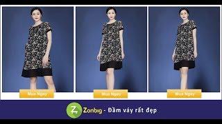 Đầm Hoa Mùa Thu Nhẹ Nhàng- [Zonbig.com]