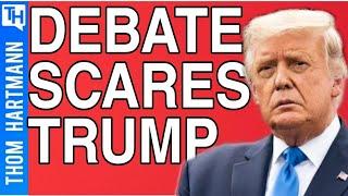 Is Trump Scared To Debate Biden?