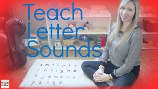Teach Letter Sounds To Your Child Using Montessori Principles - Living Montessori Now