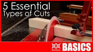 5 Woodworking Cuts You Need to Know How to Make   WOODWORKING BASICS