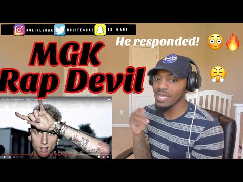 He just ended his career! |  Machine Gun Kelly - Rap Devil (Eminem Diss)| REACTION