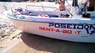Прокат лодок в греции