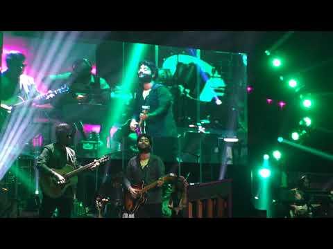 Arijit Singh Live London Enna Sona - Nikita Darji - Video
