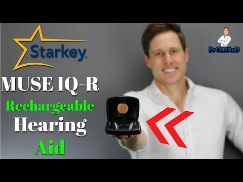 Starkey Muse IQ-R Rechargeable Hearing Aids | Hearing Aid Review