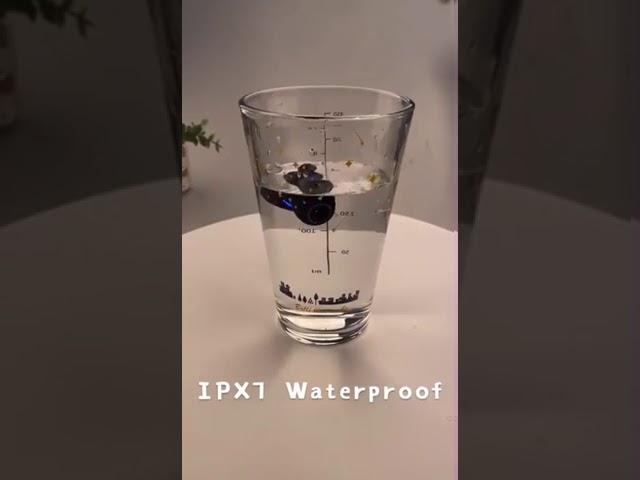سماعة أذن داخلية تعمل بتقنية البلوتوث لا سلكية مقاومة للماء