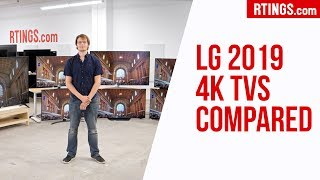 Video: All LG 2019 4k TVs Compared