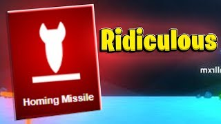 The CRAZIEST Homing Missile - Shellshock Live Showdown | JeromeACE