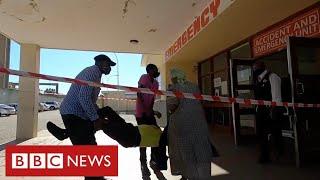 Republika Południowej Afryki przeżywa kryzys koronawirusa, gdy załamuje się opieka zdrowotna – BBC News – nagranie w j.angielskim