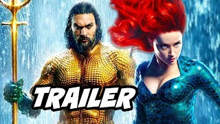 Aquaman Trailer - Extended Footage and Early Release Date Breakdown