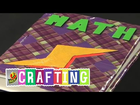 How to Craft a Duct Tape Book Cover