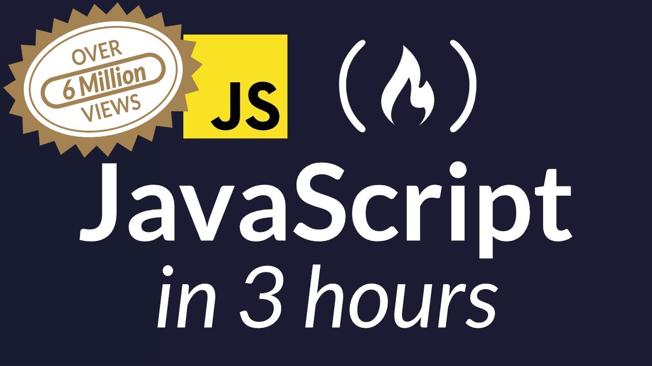 Learn JavaScript - Full 134-Part Course for Beginners
