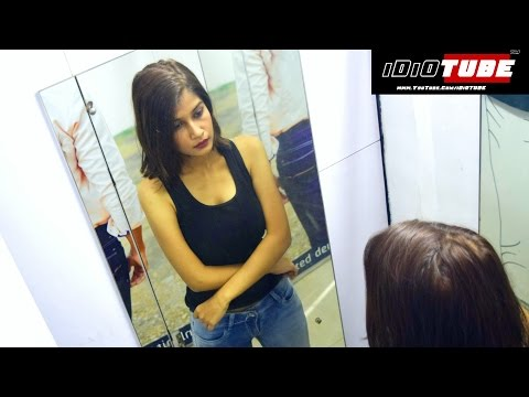 Trial Room/Changing Room - #BeAware (Social Experiment) - iDiOTUBE