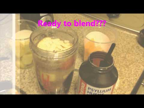 Video Weight loss Smoothie with Psyllium Husk Benefits