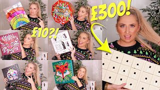HUGE CHRISTMAS BEAUTY ADVENT UNBOXING!! *£300 Calendar? Is It Worth The Money!?* 😱