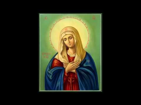 О Всепетая Мати,Рождшая Всех Святых Святейшее Слово