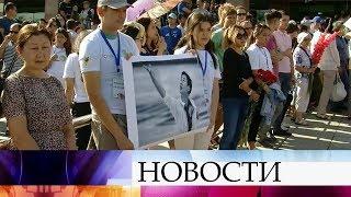 В Алма-Ате сегодня простились с прославленным фигуристом Денисом Теном.