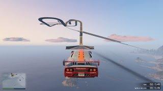 GTA 5 Online: Tập 2 - Đua Xe Trên Trời, Cảm Giác Quá Đã :D