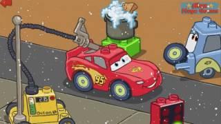 Lightning McQueen VS Francesco Bernoulli | Final Race! Cartoon Lego Jingle Bells Cars Game