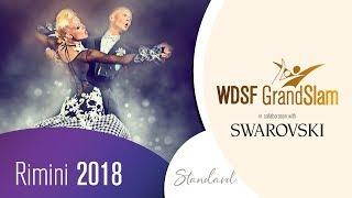Abel - Galkina, EST | 2018 GrandSlam STD Rimini | R2 SF | DanceSport Total