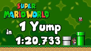 Super Mario World - 1 Yump In 1:20.733