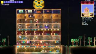 Terraria 1.3 finders keepers co-op 26 - costumes and table dancing!