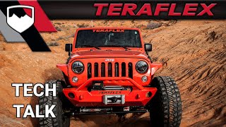 TeraFlex Tech: Open vs Locked Differentials