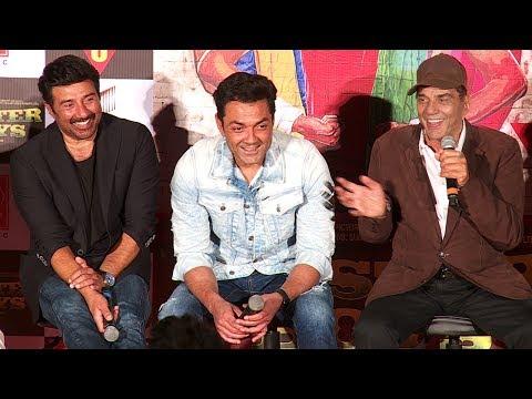 Download Poster Boys Movie Trailer Launch Full Video HD - Dharmendra,Sunny Deol,Bobby Deol,Shreyas Talpade HD Video