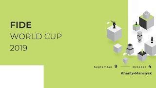 Copa del Mundo FIDE 2019. Ronda 4. Partida 1