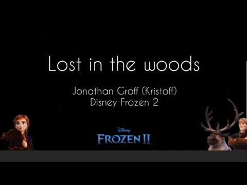 "Jonathan Groff ""Lost in the Woods"" (from Frozen ll OST) Lyrics"