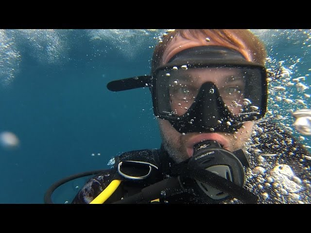 Sodwana Bay - South Africa amazing diving on 2 mile reef with GoPro
