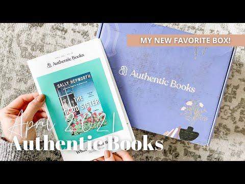 Authentic Books Unboxing April 2021