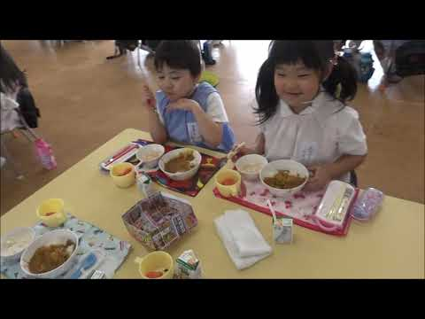 笠間市 ともべ幼稚園「カレーパーティー」