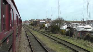 DAVE AND DEB ON THE N.Y.M.RAILWAY Part 1