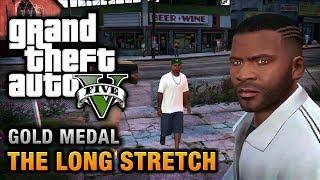 GTA 5 - Mission #9 - The Long Stretch [100% Gold Medal Walkthrough]