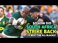 So how did South Africa take down the All Blacks?   The Squidge Report