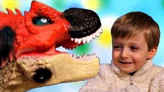 Игра про Динозавров для Детей Защищаем Яйцо от Траглодитов #25  Мультик про Динозавров Lion boy