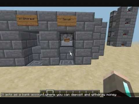 Banking System Minecraft Project