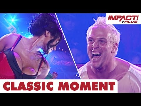 Eric Young Wins a BIKINI CONTEST! (TNA Turning Point 2006) | Classic IMPACT Wrestling Moments