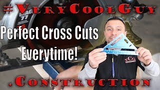 How To Crosscut With A Circular Saw FAST & SIMPLY!