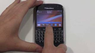 Getting started with your BlackBerry Bold 9900
